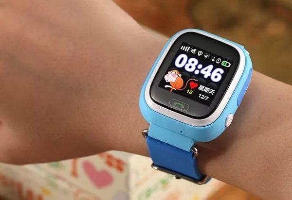 Детские часы Smart baby watch Q100 с GPS трекером