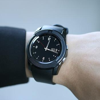 Стильные наручные умные часы - Smart Watch V8