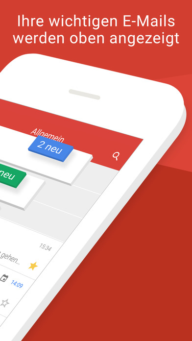 Gmail – E-Mail von Google: sicher und schnell Screenshot