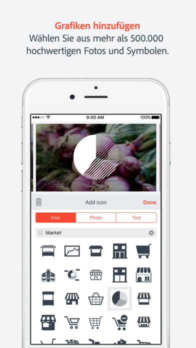 Adobe Spark Video, Animierte Videos in Rekordzeit Screenshot