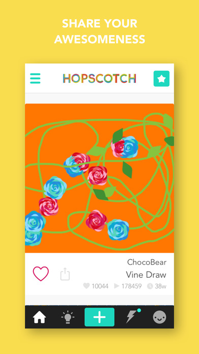 Hopscotch: Learn to Code Creatively and Make Games Screenshot
