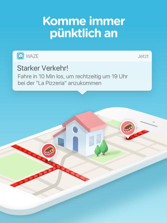 Waze - GPS, Navigation, Karten und Verkehr Screenshot