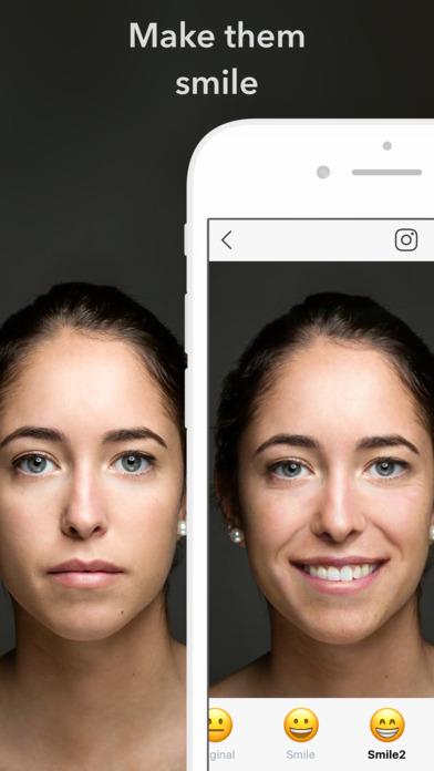 FaceApp: Neural Face Transformations Screenshot
