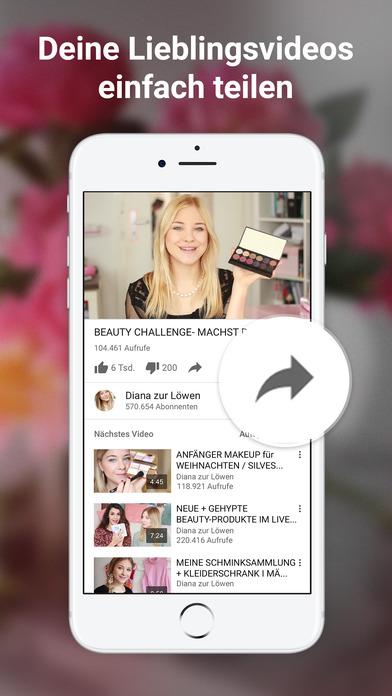 YouTube – Videos, Clips & Musik ansehen und teilen Screenshot
