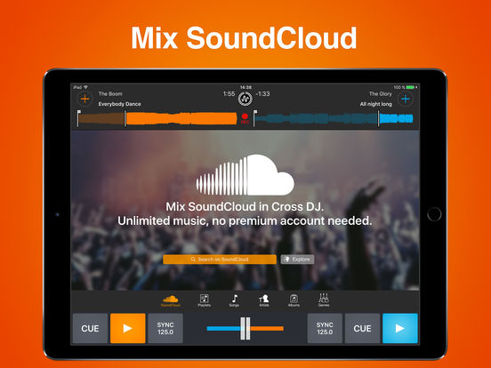 Cross DJ Pro - Mix your music Screenshot