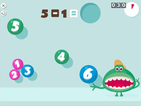 1e Montessori Rekensommen Screenshot