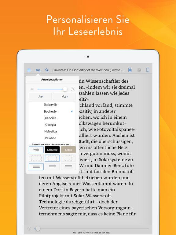 Kindle – eBooks, Zeitschriften & Fachbücher lesen Screenshot