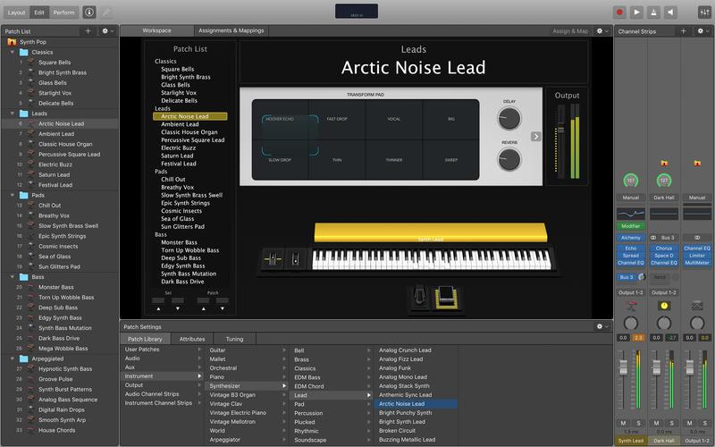 MainStage 3 for Mac 3.3 激活版 - 强大的现场演奏软件