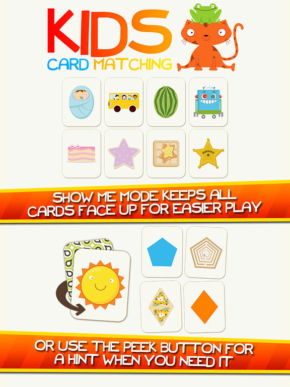 Shape Game & Colors App Preschool Games for Kids iPad