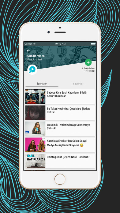Onedio - Sosyal İçerik Platformu Screenshot