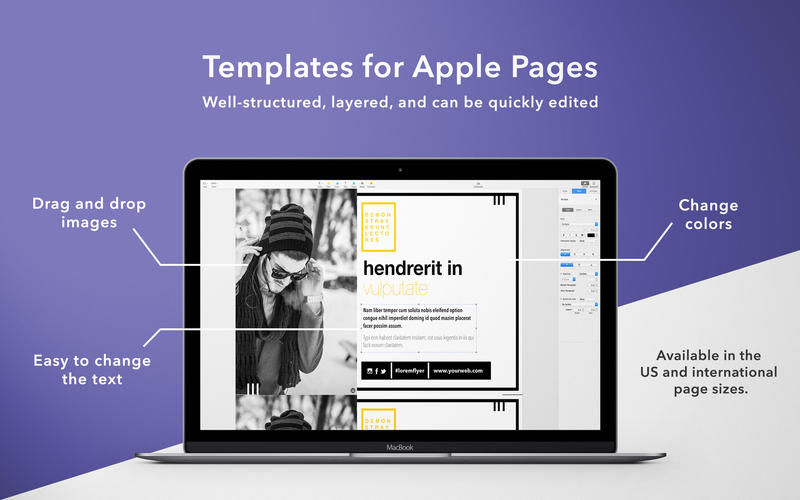 GN Flyers for Pages - Templates Bundle for Mac 1.4 激活版 - 精美的Pages模板合集