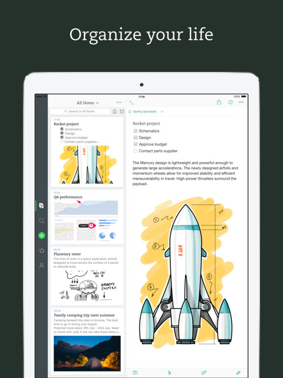 Evernote - stay organized Screenshot