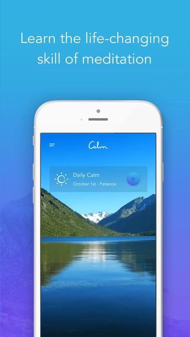Calm: Meditation to Relax, Focus & Sleep Better Screenshot