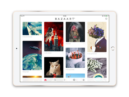 Bazaart Photo Editor Pro and Picture Collage Maker Screenshot