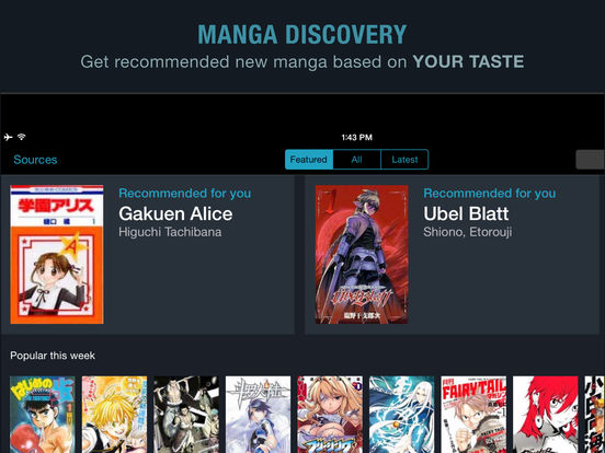 Manga Rock - Best Manga Reader Screenshot