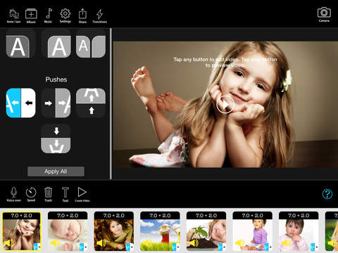 FunSlides HD - Make HD video from photos iPad