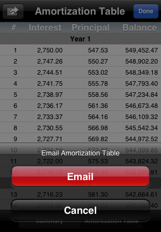 RECalc - Mortgage Loan Calculator