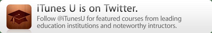 iTunes is on Twitter