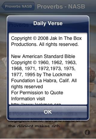 Daily Proverbs - NASB Bible