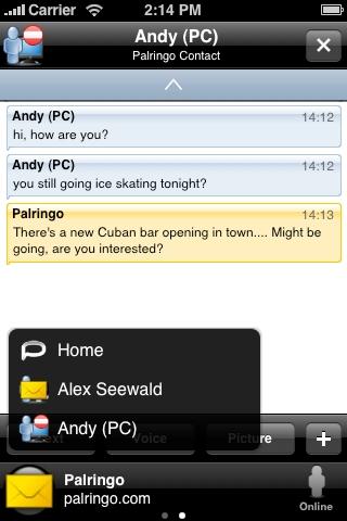Palringo Instant Messenger