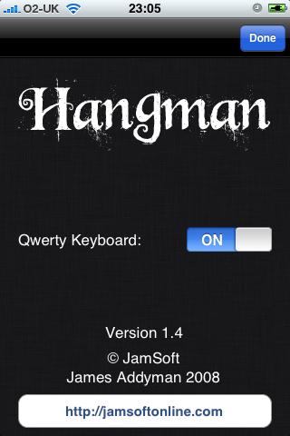 Hangman.