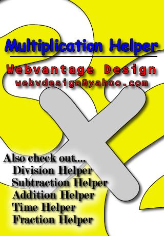 Multiplication Helper