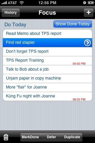 SmartTime Lite (Calendar, ToDos, GTD)