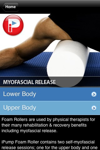 iPump Foam Roller