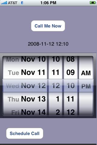 Call Me Back!