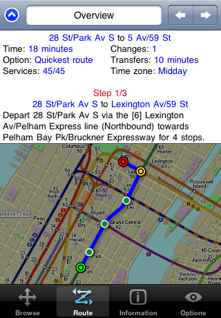 Tube New York Subway