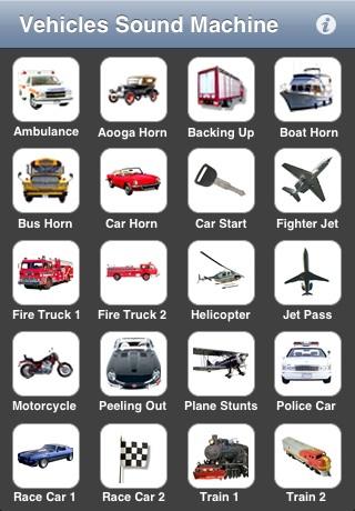 Vehicles Sound Machine