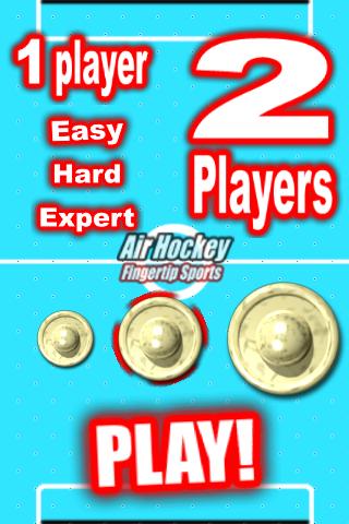 Air Hockey Fingertip Sports