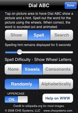 ABC Alphabet (241 3L words)
