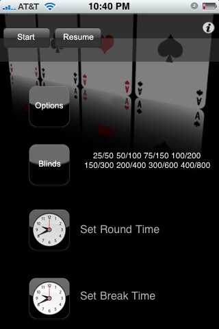 Poker Timer Dealer Button