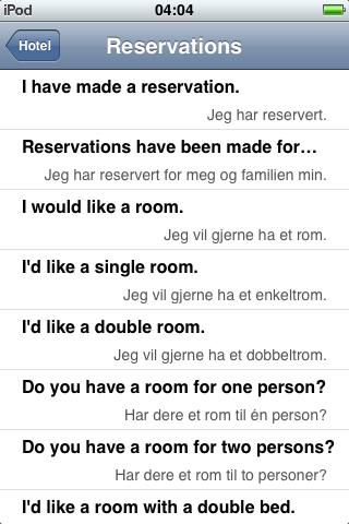 Jourist Visual PhraseBook Norwegian