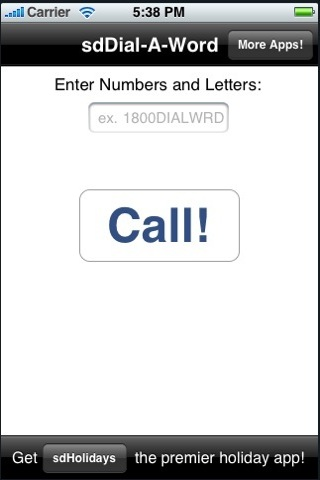 DialAWord (was sdDialAWord)
