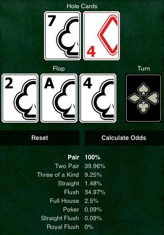 Texas Hold'em Odds Calculator
