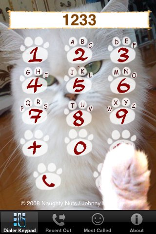 The Dialing Cat