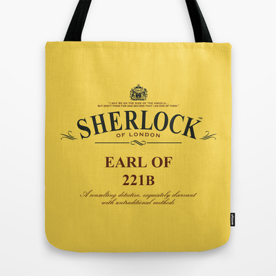 Earl of 221B Tote Bag