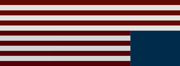 House of Cards American Flag Art Print by JLDesigns