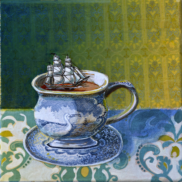 Sea Dog's tea cup