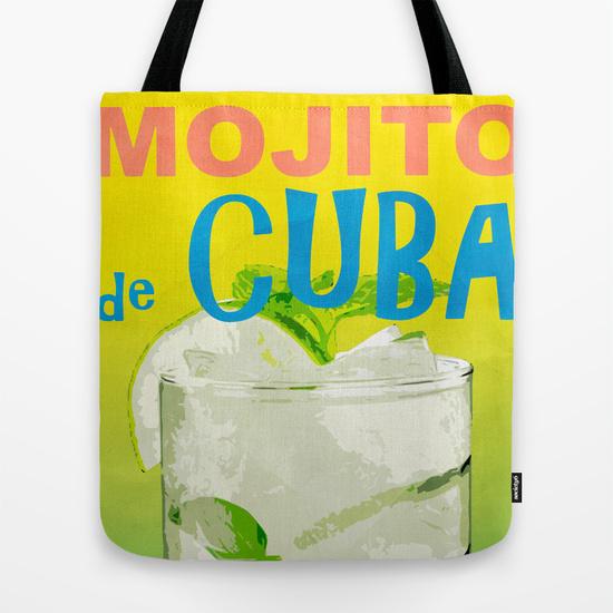 Mojito De Cuba tote bag
