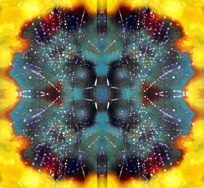 Spiderweb Dew Art Print