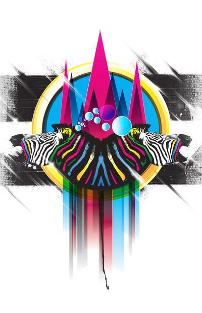 Wild Stripes Print