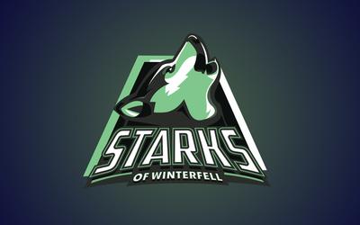 Starks of Winterfell Art Print