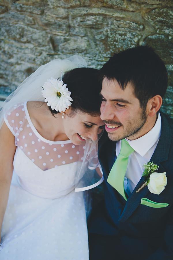 Polka Dot Green Wedding Barn Wedding Shabby Chic Style