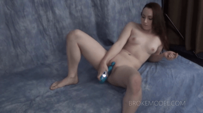 I Put This Toy In Her Pussy