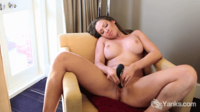 Poking That Tight Vagina With Toys