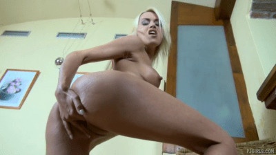 Skinny Teen Spreading Her Pussy Wide