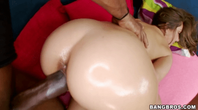 Teens Big Ass Gets Oiled Up